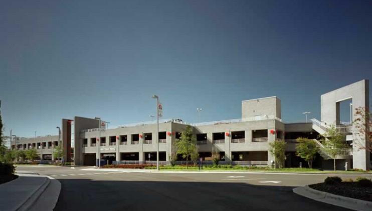 High Point Regional Hospital – Parking Deck