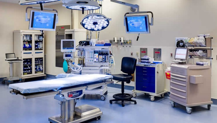 Novant Health Presbyterian Medical Center – G-Wing Addition – Heart Operating Rooms